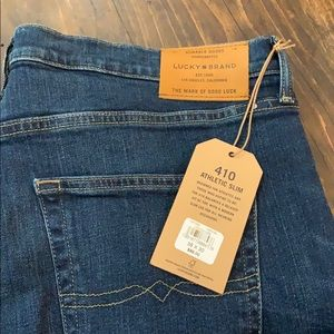 Lucky Brand Jeans - Lucky Brand 410 Athletic Slim Fit Jeans 38x30 NWT